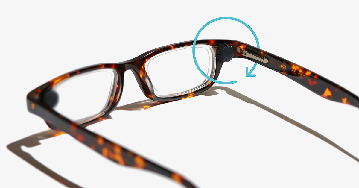 Adjustable Focus Reading Glasses